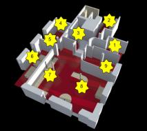 plan des espaces du labo NRV