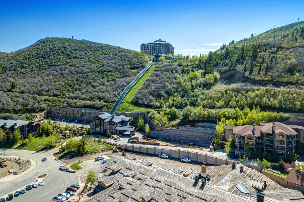 View of The Snow Park Residences at The St. Regis Deer Valley