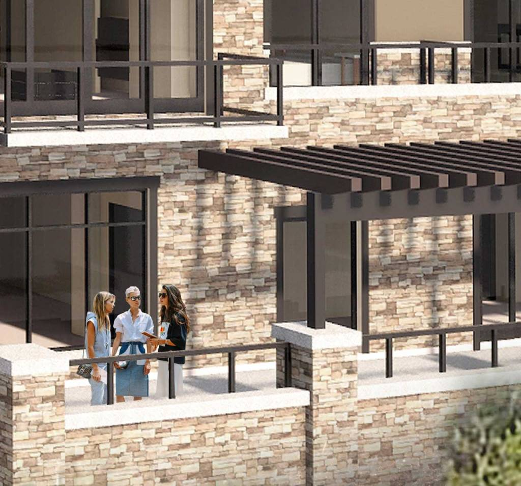 The Snow Park Residences at The St. Regis Deer Valley - Balconies Rendering