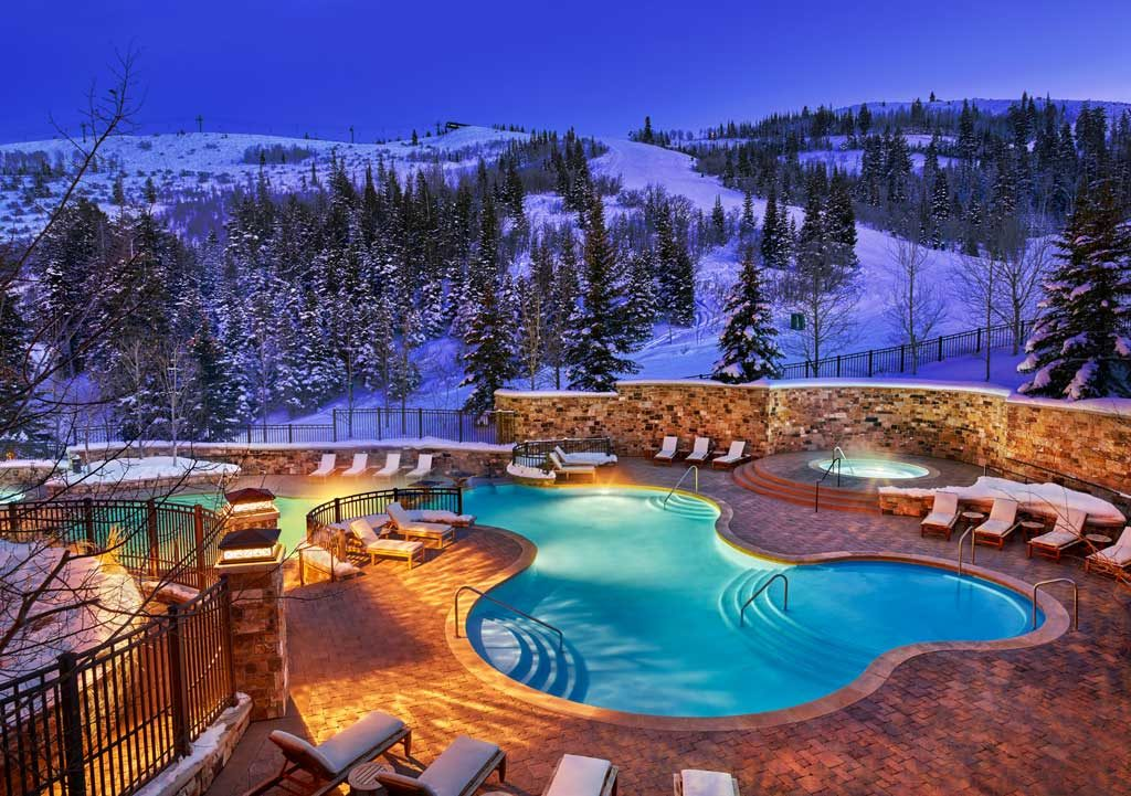 The St. Regis Deer Valley Exterior Pool