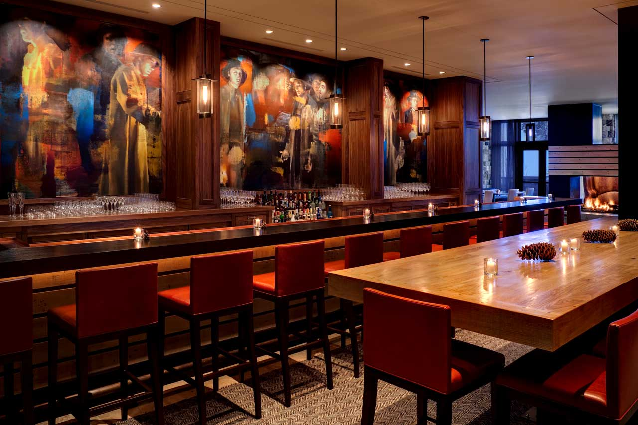 The St. Regis Deer Valley Bar and Lounge