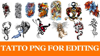 Photo of Tattoo Png For Picsart And Photoshop editing 2018 New Collection