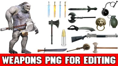 Photo of HD Weapons png For Picsart and Photoshop 2018 New Collection