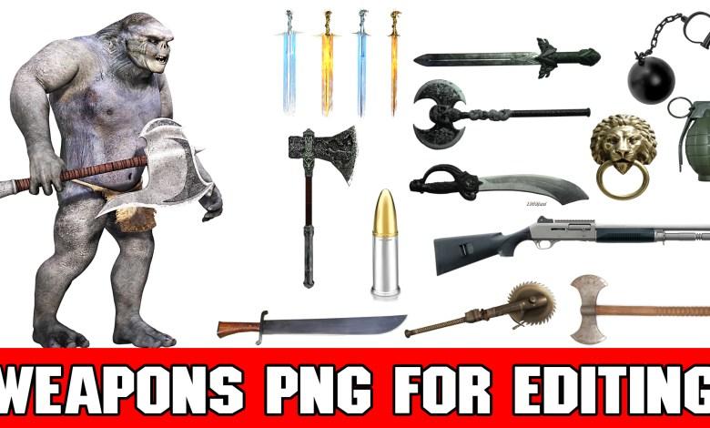 weapons png for picsart weapons png for picsart