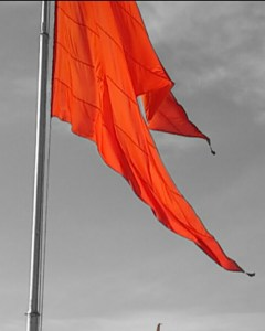 Bhagwa Jhanda Background