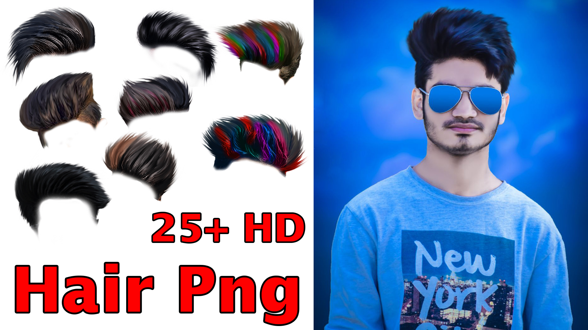 hair Png HD New