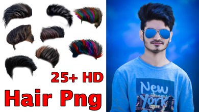 hair Png HD New