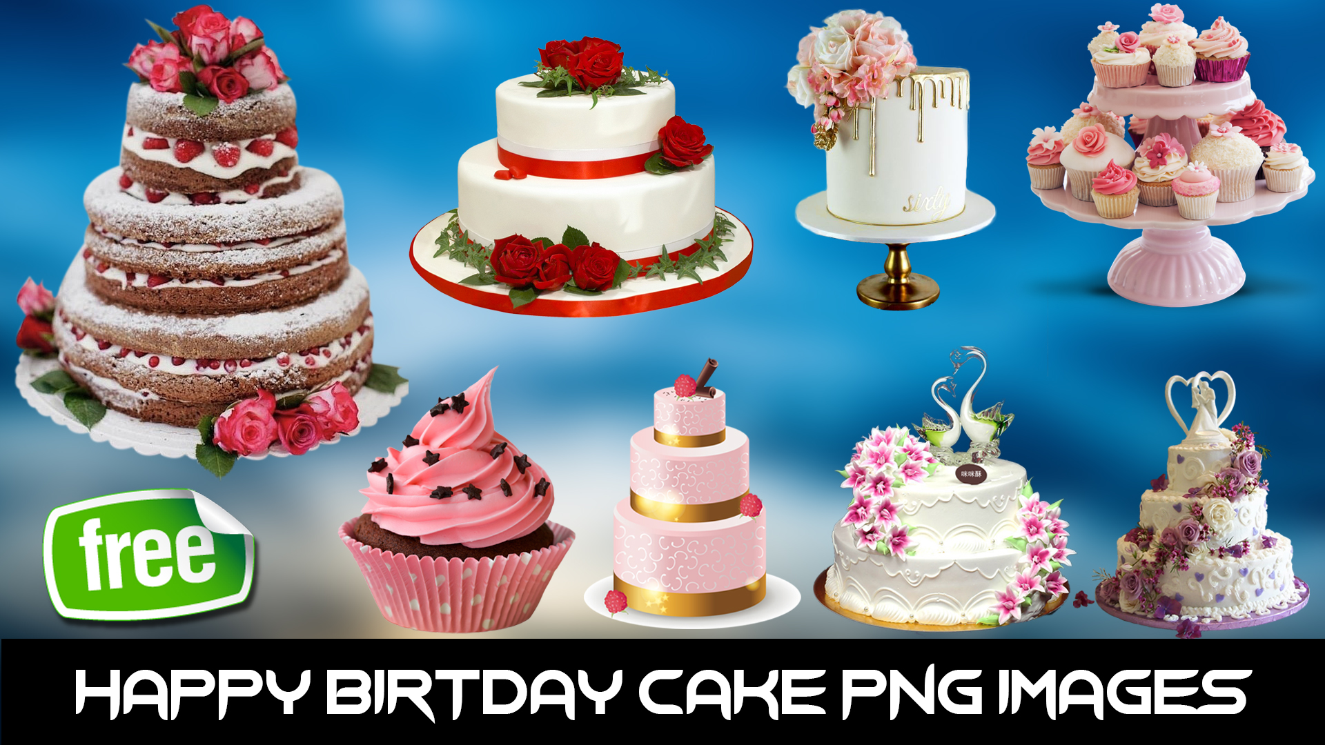 1st Birthday Cake Png
