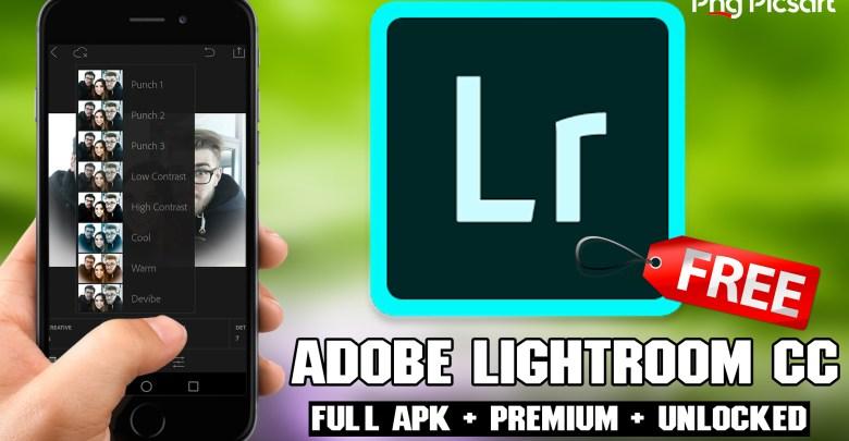 Adobe Photoshop Lightroom free Download Premium apk Download