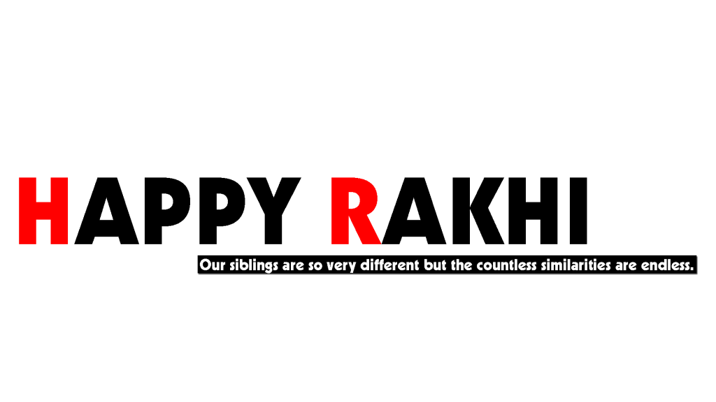 Raksha bandhan Text Png