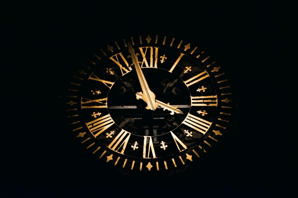 Clock overlay
