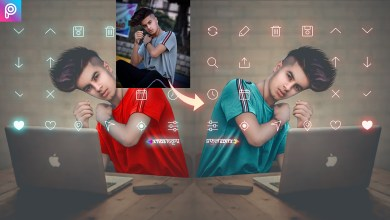 Photo of Picsart Social media virtual studio Editing tutorial || Social Boy Photo editing