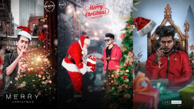 Photo of Picsart Merry Christmas Photo editing Tutorial 2020 || Happy Christmas Day Editing By AK Xstyle