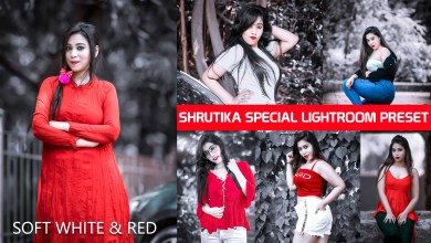 Photo of Soft white & Red Lightroom preset by SR Editing zone special