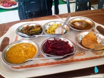 Lunch at Dambulla