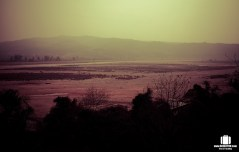 Jammu Tawi river – all dried up