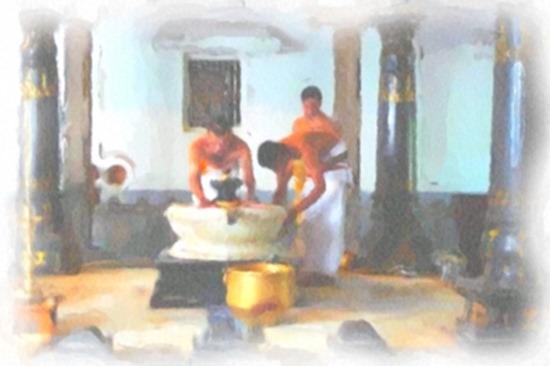 sri-ramana-ashram_Painting