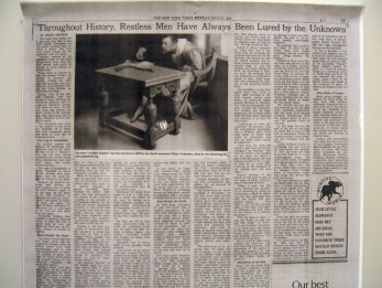 Philip Verheyen inserted into NYT from the day of the first moon landing