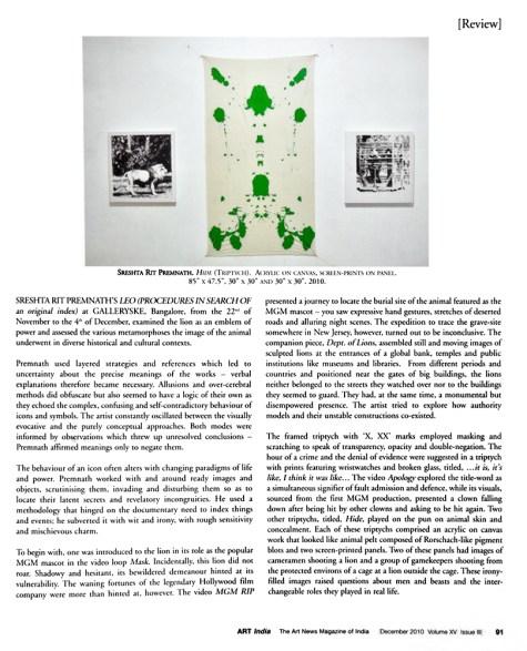 Dec 2010, Vol XV Issue II, Pg 91