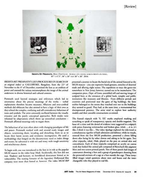 Dec 2010, Vol XV Issue II, Pg 91