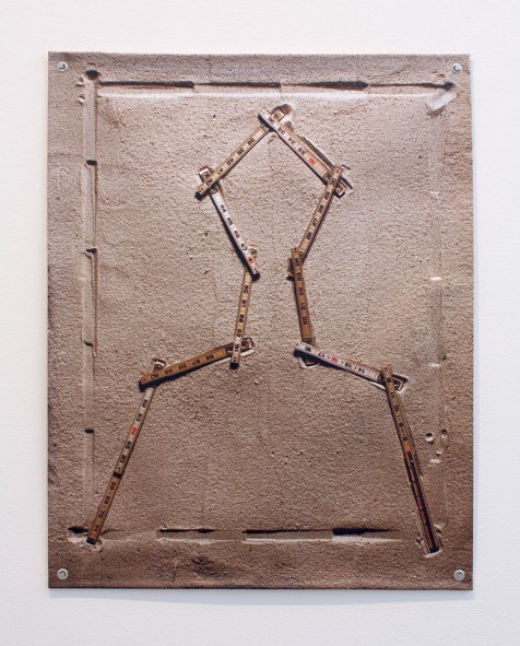 Folding Ruler, 2012, Sreshta Rit Premnath