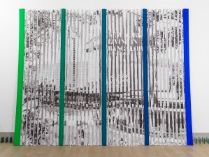"""Projections (1964/2014)"", Photocopies on Corrugated Plastic"