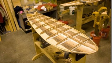 Wood GRAIN Surfboard