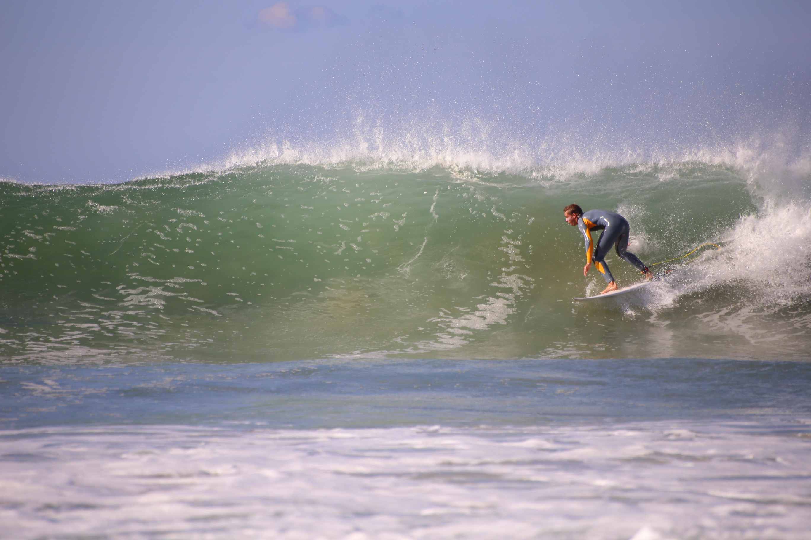 Surfing Southern France
