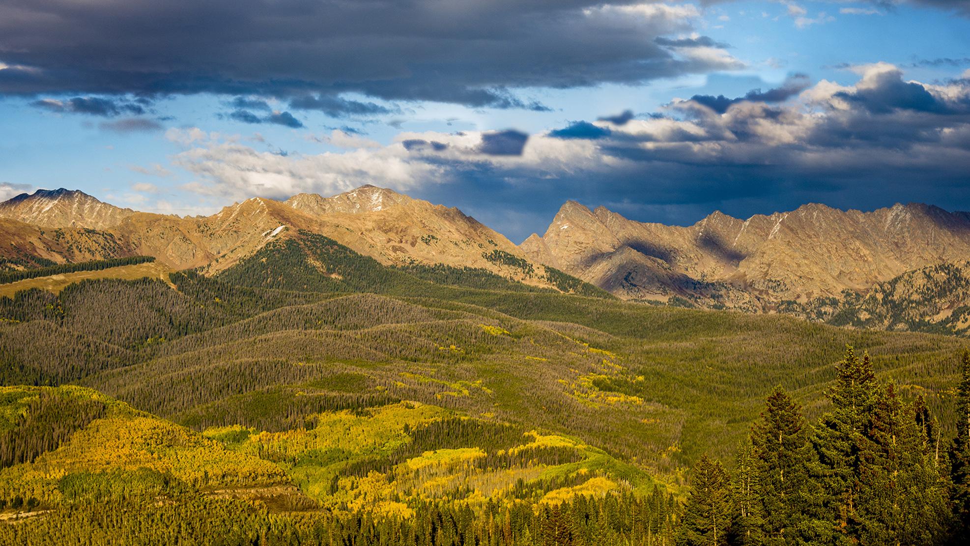 Gore Range, Vail, Colorado