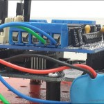 Adafruit-Motor-Shield-Affixed-On-Top-Of-Arduino-Uno-Board