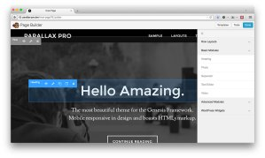 [Video] Re-creating Parallax Pro's homepage using Beaver Builder
