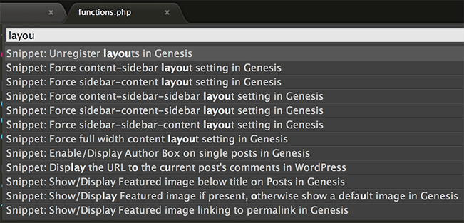 genesis-snippets-sublime-text