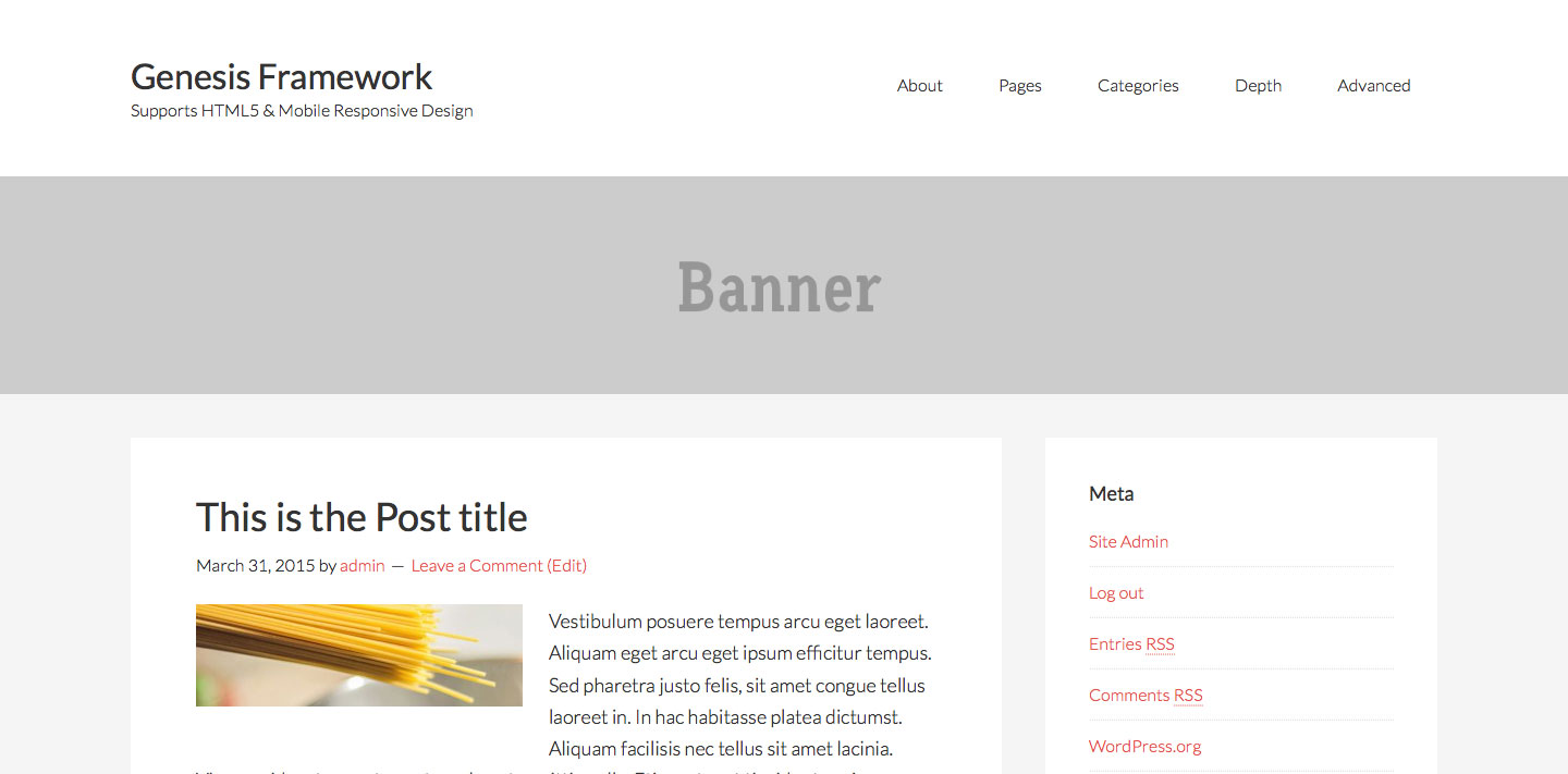 how to add header in pages
