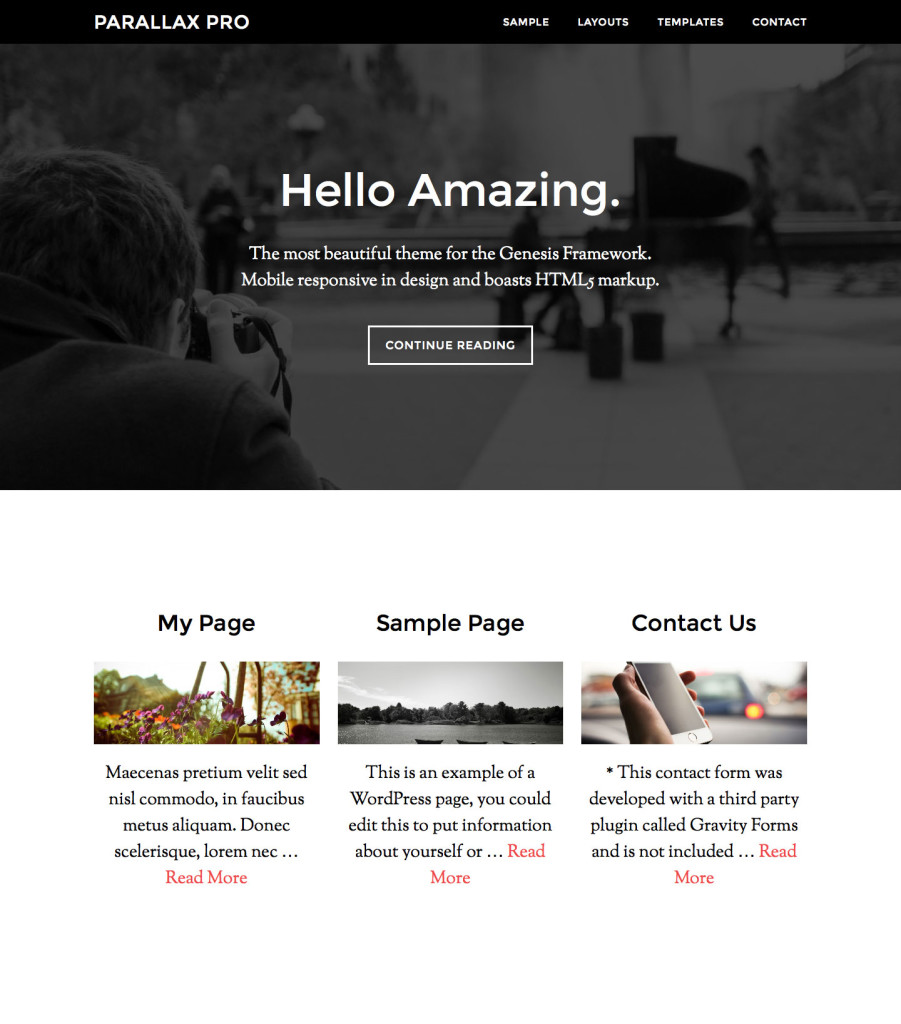 parallax-pro-three-featured-pages