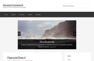Custom responsive Slider showing Featured Posts in Genesis using ResponsiveSlides.js