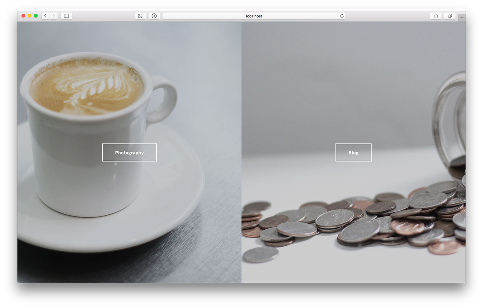 Side-by-Side-Landing-Page