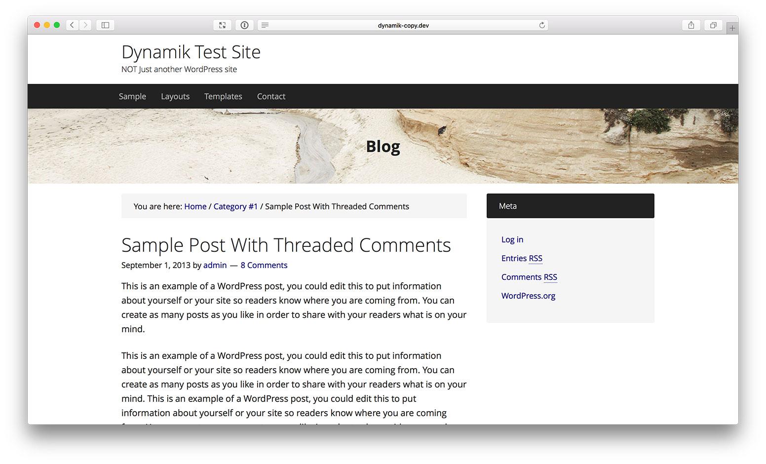 how to add banner in wordpress header