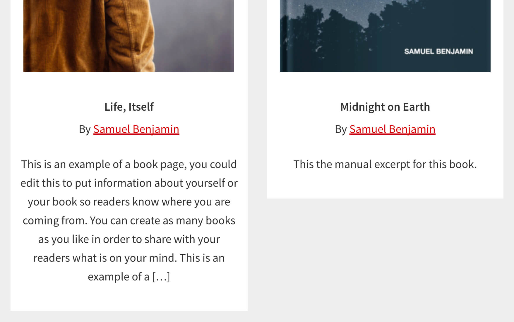 how to add excerpts below author byline when using genesis author
