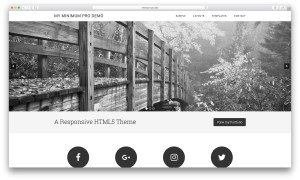 How to add a slider in Minimum Pro's front page