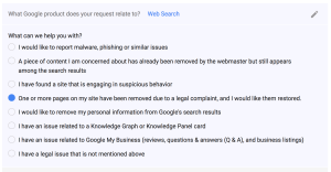 How to counter Notice of DMCA removal from Google Search