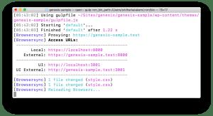 BrowserSync in Laravel Valet