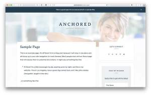 Custom background image for site header using ACF in Anchored