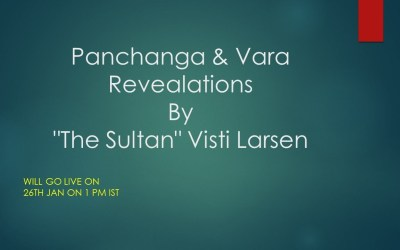 The Weekday: Panchanga Series