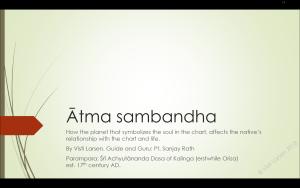 atmasambandha slides