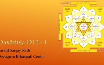 01. Dasāṁśa D10 – Pandit Sanjay Rath