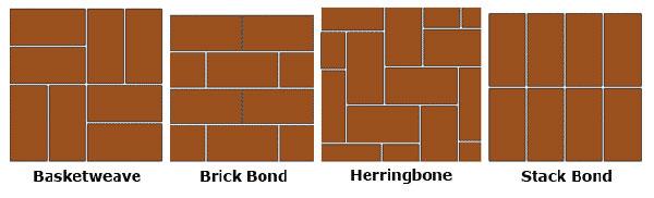 concrete-brick-paver-patterns-installtation,Interlocking Paver Moulds, Parking tiles moulds, Rubber Paver Moulds, Vibrator Paver Moulds.