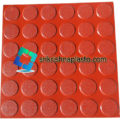 36 Round Circle Checkered Tile With Matt Finish
