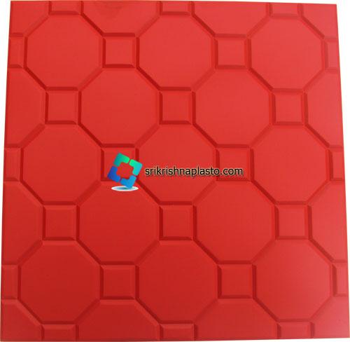 FootBall Designer Concrete Tiles Rubber Mould,FootBall Designer Concrete Tiles Plastic Mould, wet casting Concrete Tiles Rubber Mould