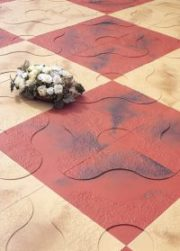 Chequered Tiles Rubber Moulds
