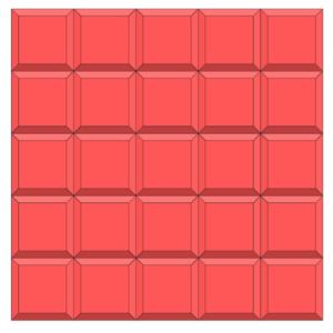Floor Tile Plastic Mould Red Iron Oxide Pigment